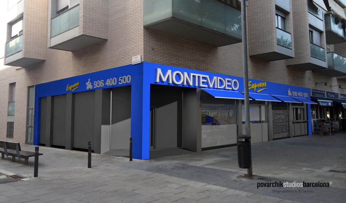 Dise o de locales comerciales estudio de dise o 3d for Vaciado de locales en barcelona